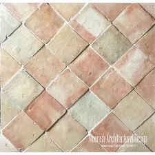 4 x 4 moroccan terracotta tiles mediterranean terra cotta floor