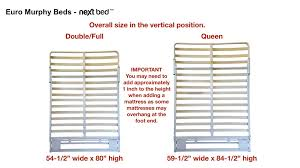 next bed euro murphy bed systems best prices u2013 euro murphy beds