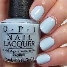 Opi It S A Boy This Baby Blue Is A True Bundle Of Joy I M Showing