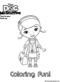 doc mcstuffins friends coloring pages kids printable free