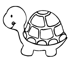 cute turtle coloring pages getcoloringpages