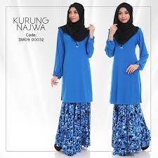 baju kurung moden zaman sekarang baju kurung najwa moden dan murah untuk raya 2016