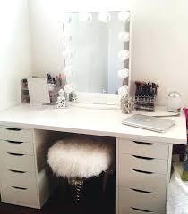 ikea makeup vanity desk black vanity table without mirror best 20 vanity desk ideas