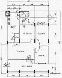 floor plans for fajar road hdb details srx property