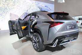 lexus lf nx lexus lf nx concept rear three quarter at naias 2014 indian