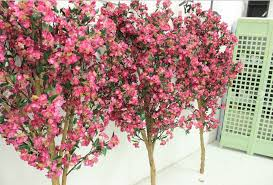 high quanlity 1 8m pink artificial cherry blossom branches for