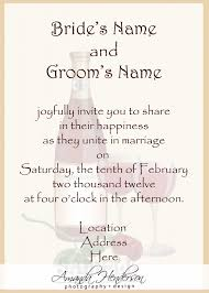 wedding registry invitation templates wedding registry wording for invitations plus gift