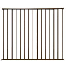 Decking Kits With Handrails Ez Handrail Metal Deck U0026 Porch Railings Decking The Home Depot