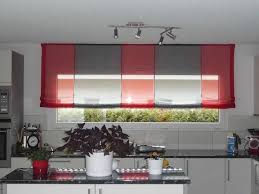 rideaux de cuisine et blanc store de cuisine cheap dcoration ilot de cuisine rond nantes