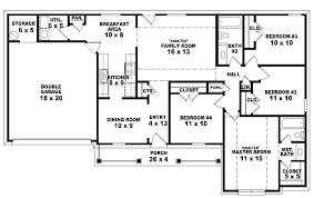 ranch home floor plans 4 bedroom 4 bedroom floor plans designs 4 bedroom house floor plans on