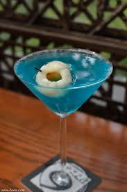 blue martini bombay sapphire gin creme de menthe white