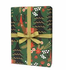 christmas wrapping paper sets feliz navidad gift wrap by rifle paper co made in usa