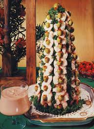 Making The Shrimp Christmas Tree From Bon Appétit 1974 Bon Appetit