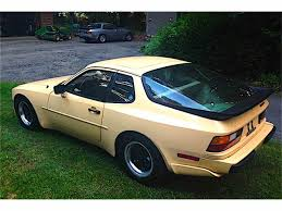 porsche 944 gold 1983 porsche 944 for sale classiccars com cc 897852
