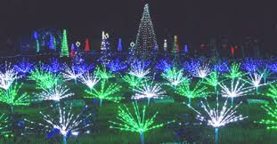 The Missouri Botanical Garden Garden Glow Light Exhibit Highlights Holidays At Missouri