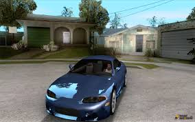 mitsubishi gta eclipse tunable for gta san andreas