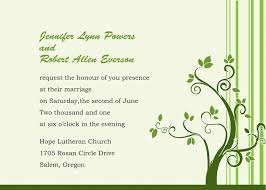 green wedding invitations simple green tree wedding invitations ewi021 as low as 0 94
