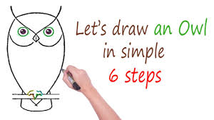 how to draw a realistic owl step by step for beginners cute owl