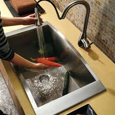 stainless steel sinks undermount d shaped sink clips home depot gorgeous single bowl kitchen stainless steel kitchen sinks