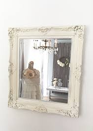 Oak Framed Bathroom Mirror by French Country Decor Home Office In The Mirror White Baroque