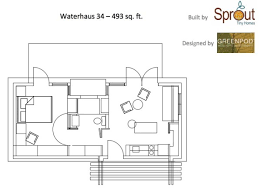 Tumbleweed Whidbey 592 Sq Ft Little Cottage In Italy Floor Plan Photos