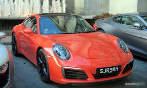 porsche car 911 first impression review porsche 911 carrera s an accessible daily