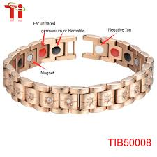 magnetic bracelet with germanium images Titanium steel magnetic bracelet with far infrared germanium or png