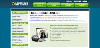 Create Resume Online Free Pdf by Easy To Get A Job Sites To Help You To Make Resume Online