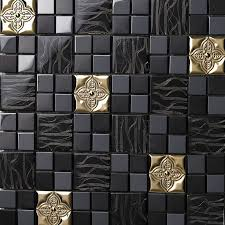stainless steel mosaic tile backsplash 278 best popular tiles images on pinterest kitchen backsplash
