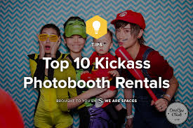 top 10 kickass photobooth rentals meeting rooms and event