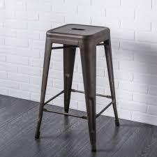 ksp toli metal counter stool gunmetal kitchen stuff plus