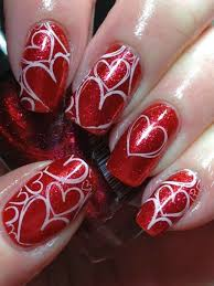 299 best uñas 14 feb images on pinterest holiday nails