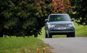 navy range rover 2018 range rover photos and info news car and driver
