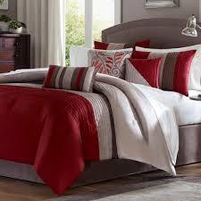 Comforter King Size Bed Salem 7 Pc Pintuck Comforter Bed Set