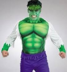 Incredible Hulk Halloween Costume Hulk Party Invitations Supplies Birthday Marvel Heroes Justice