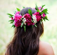 wedding flowers hawaii s hawaiian flower crown bridal hair ideas toni kami