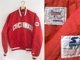 cincinnati reds starter jacket vintage mlb starter jacket