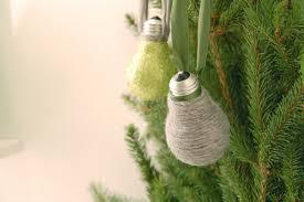 30 easy diy christmas ornaments made from light bulbs