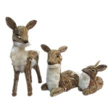 reindeer figurines accents home decor kohl s