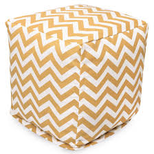 cube ottomans patio poufs comfortable furniture majestic