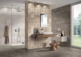 Bathroom Wall Panel Beige Ceramic Tile Bathroom Brown Ceramic Tiled Backsplash Shower