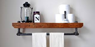 bathroom shelves beautiful and easy diy bathroom shelving ideas