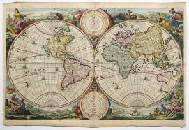 antique map world antique map keur world