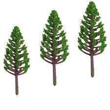 2017 best price 68mm plastic model trees for railroad house park