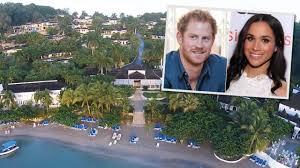 inside prince harry and meghan markle u0027s jamaican love nest pair