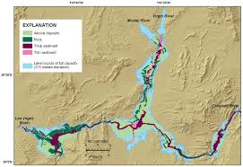 lake mead map usgs ofr 2009 1150 surficial geology of the floor of lake mead