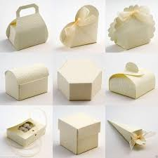favor boxes best quality diy soft embossed wedding favour favor
