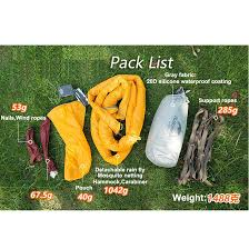 naturehike one person hammock with bed net ultralight hanging tent