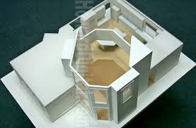 fascinating architectural model building charming landscape new at