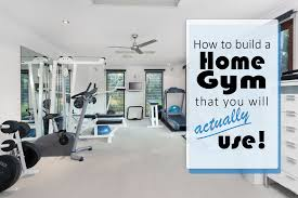 building a home gym that you u0027ll actually use eieihome